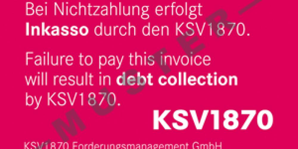 Našou garanciou je KSV 1870